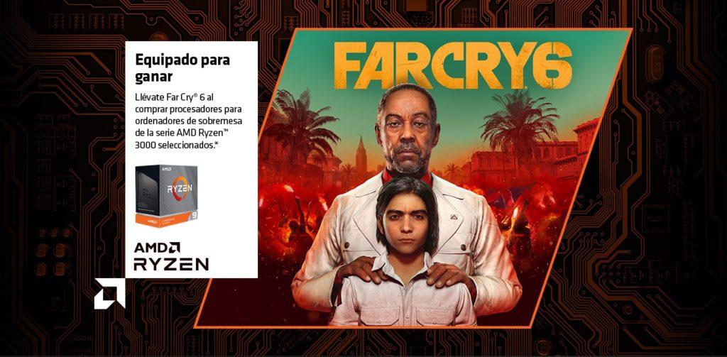 Far Cry 6 gratis con el AMD Ryzen 3000
